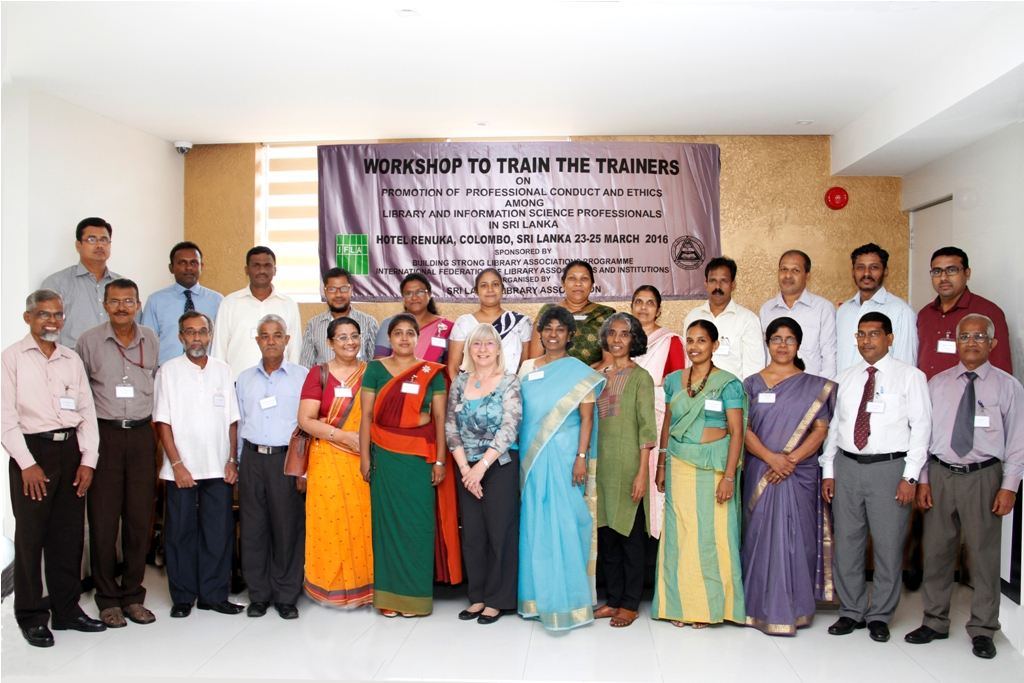 BSLA Train of Trainers in Sri Lanka