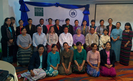 Participants at the BSLA workshop and stakeholder meeting, 25-27 January 2016 in Yangon, Myanmar