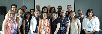 Members of the Public Libraries Standing Committee in Athens, Greece