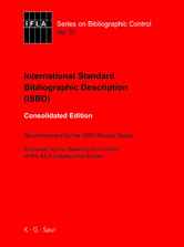 ISBD Consolidated edition