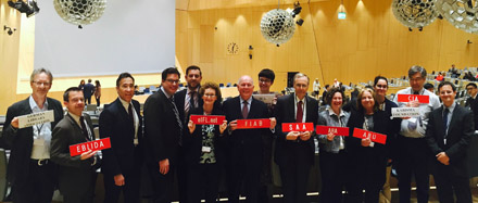 Libraries and Archives delegation at SCCR meeting at WIPO
