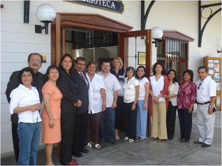 Train the Trainers Workshop in Lima, Peru