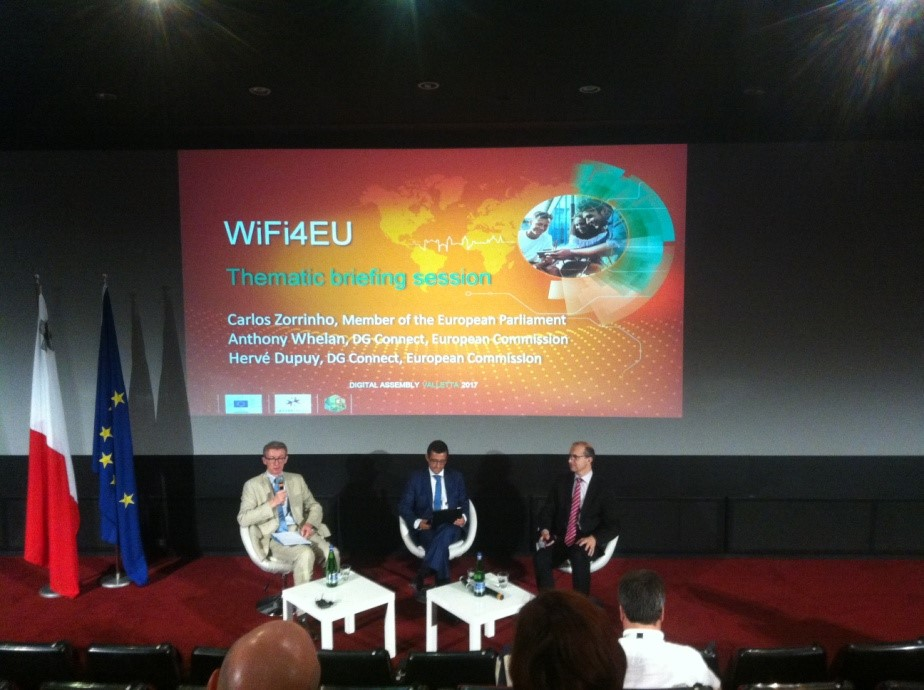 WiFi4EU Panel at European Digital Assembly