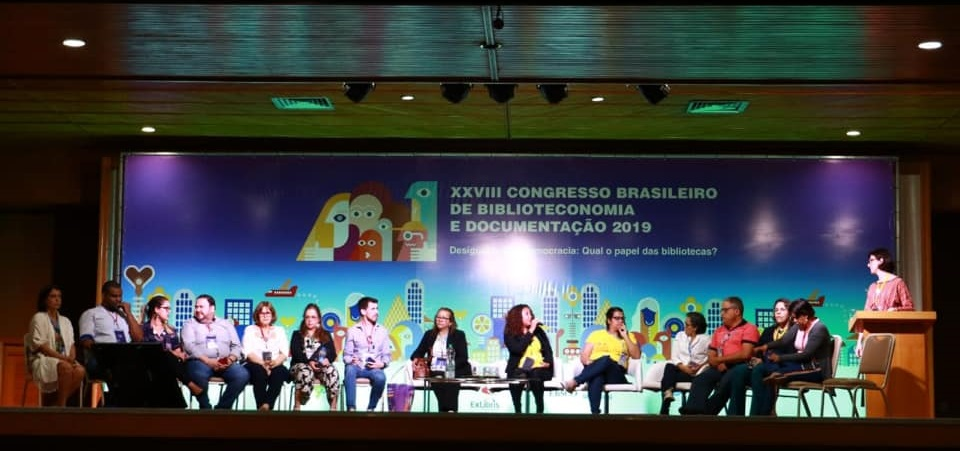 IFLA Strategy panel discussion at the Brazilian Congress of Library, Documentation and Information Science, the largest event in the region.