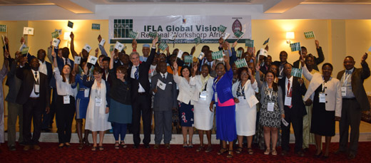 IFLA Global Vision Africa participants in Yaoundé, Cameroon