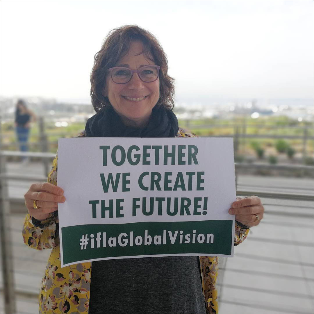 Deborah Jacobs, Director of the Global Libraries Programme
