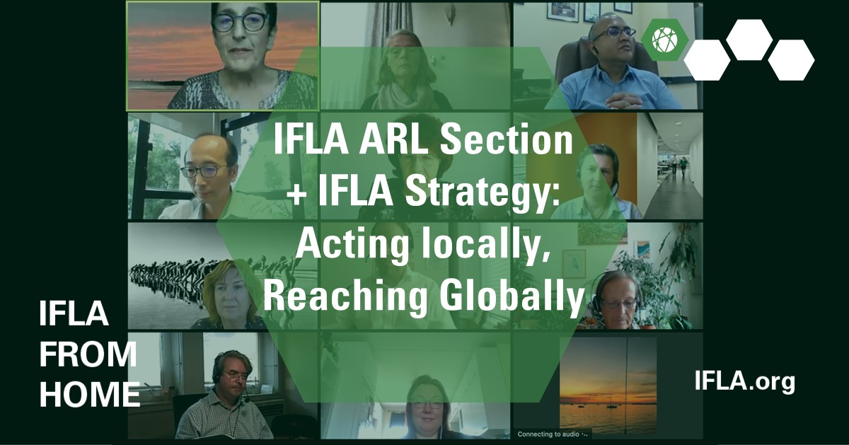 IFLA ARL Section + IFLA Strategy