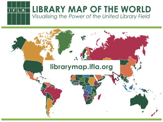 Library Map of the World