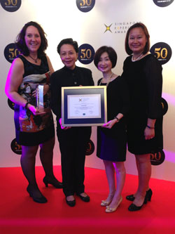 Singapore Experience Award 2014, Experience Association Conference Organiser of the year
