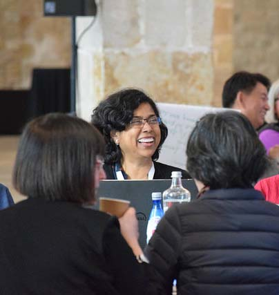 Participant at the IFLA Global Vision Kick Off Workshop