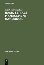 Basic Serials Management Handbook