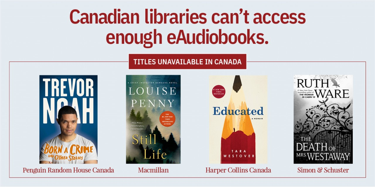 Graphic from the Canadian Urban Libraries Council Campaign