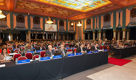 Marrakesh Diplomatic Conference, 2013, where the Marrakesh Treaty was agreed
