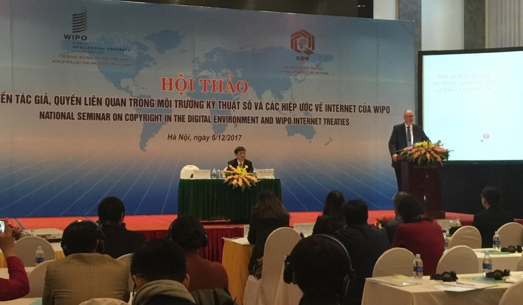 WIPO Conference on Copyright in Viet Nam