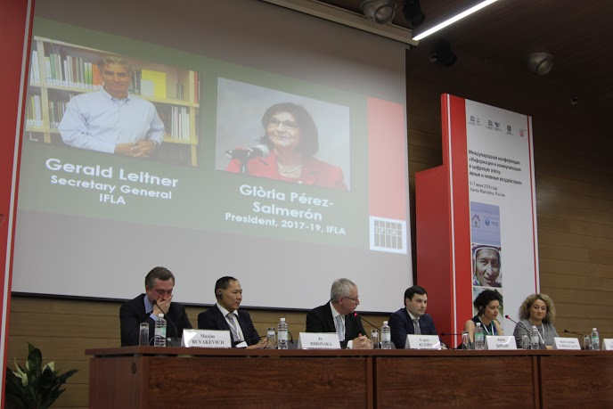 Opening Panel at UNESCO-IFAP Conference