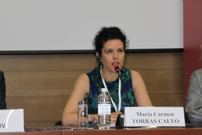 Maria-Carme Torres Calvo at the Opening Session