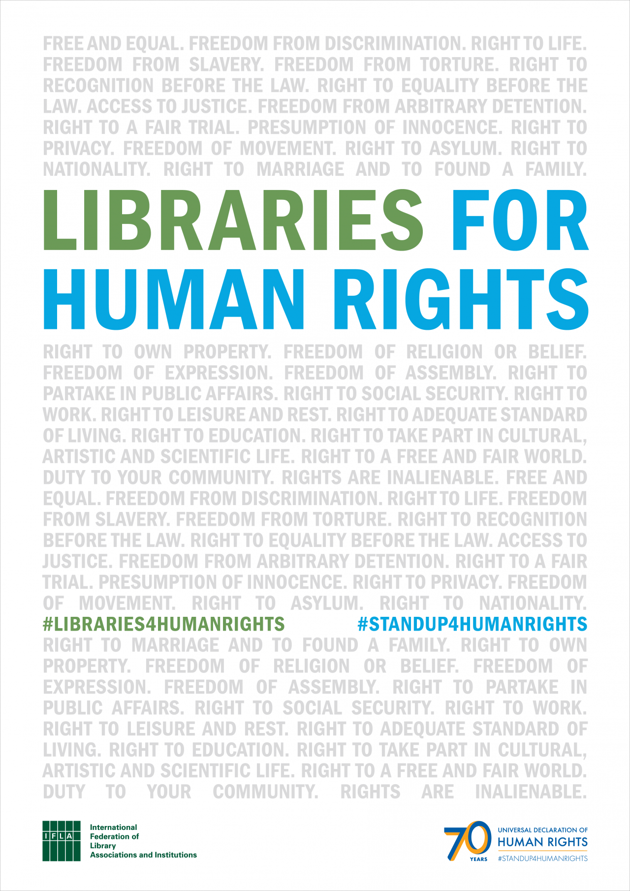 Libraries for Human Rights