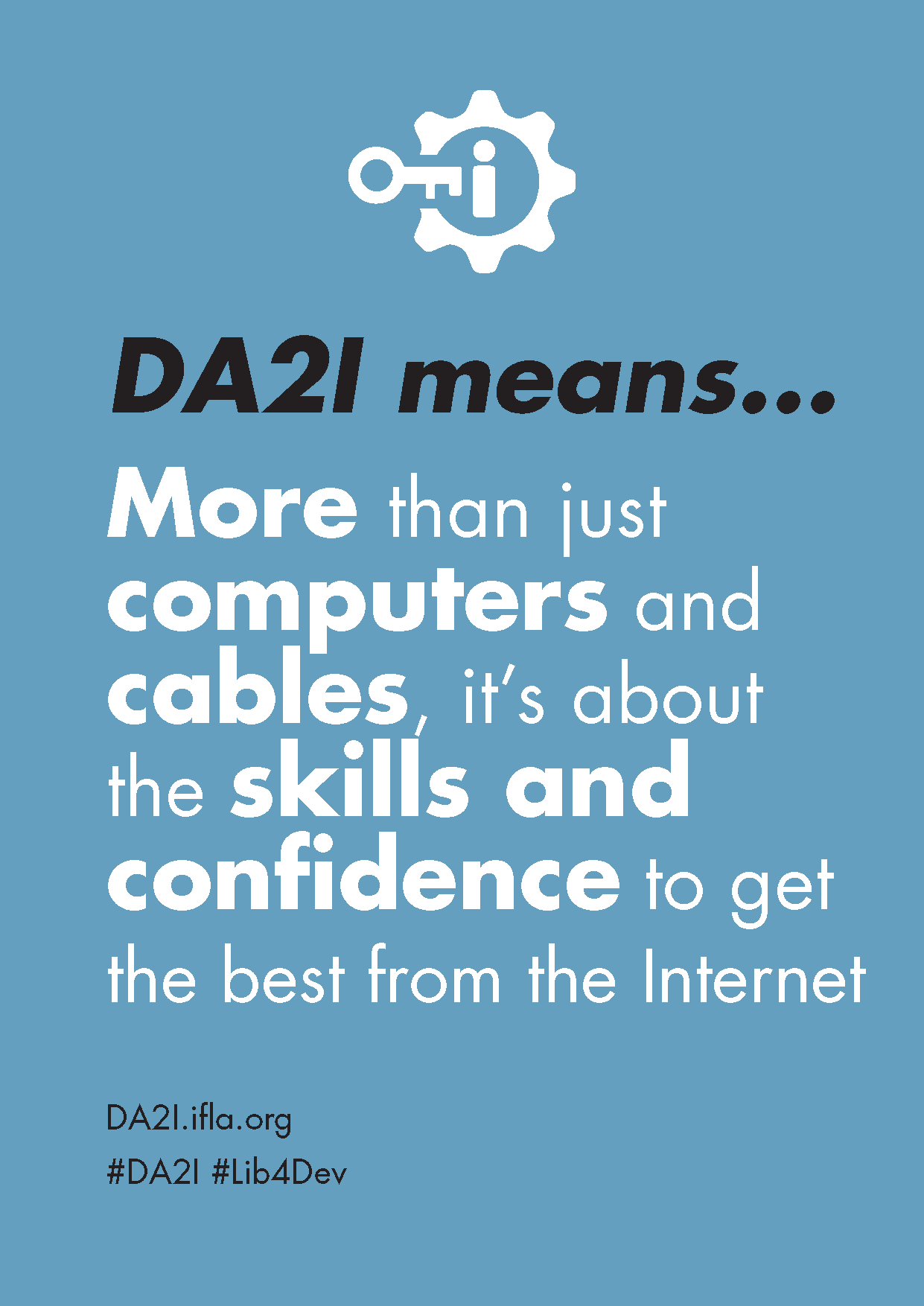 DA2I Postcard: SDG 16 Peace, justice and strong institutions (skills and confidence)