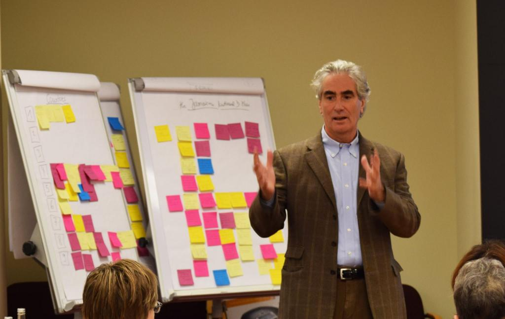 IFLA Secretary General Gerald Leitner opening the IAP Workshop in The Hague