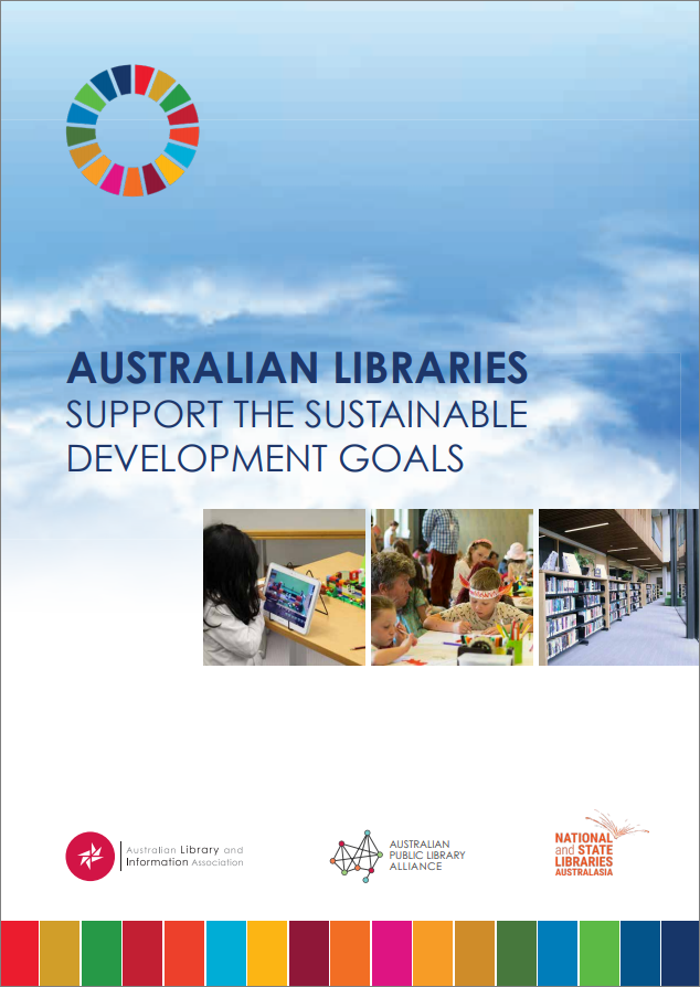 Australian libraries support the Sustainable Development Goals