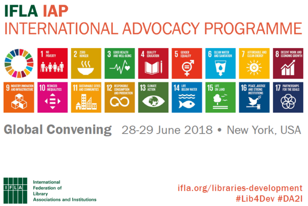First page of IFLA IAP slidepack