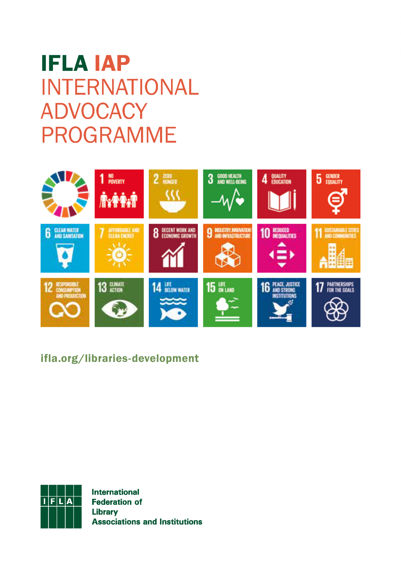 International Advocacy Programme (IAP) Brochure