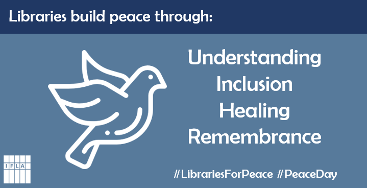 Graphic for International Peace Day 2018