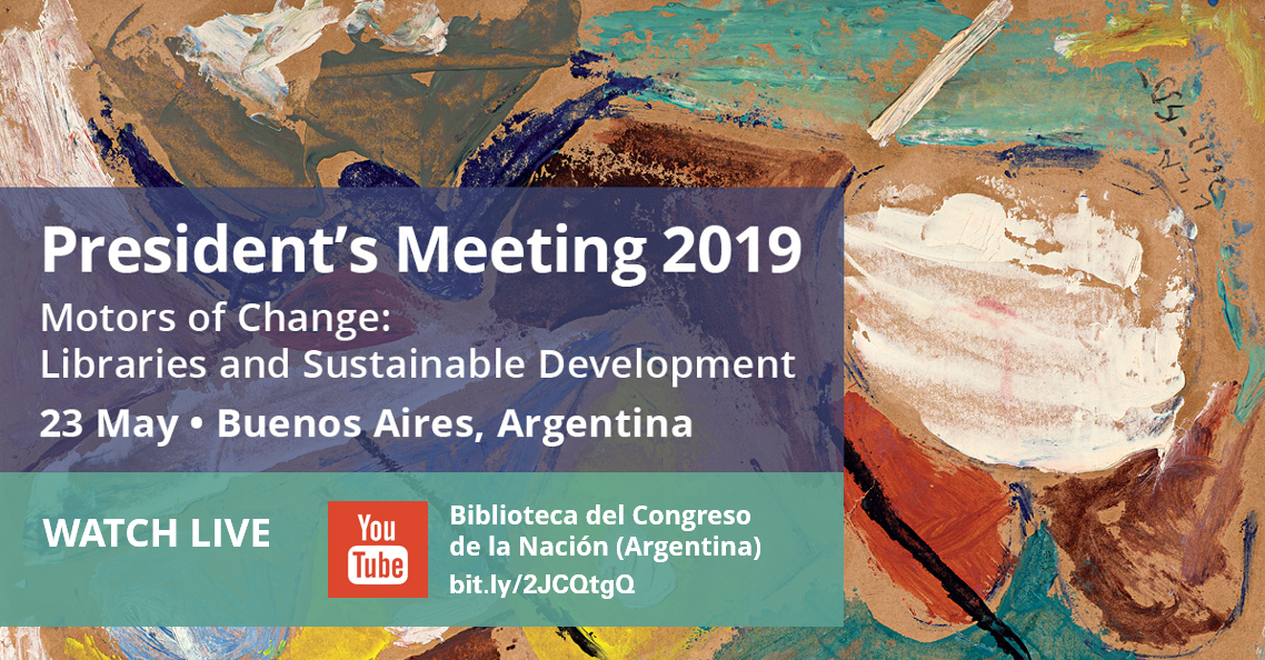 IFLA President's Meeting 2019 - Watch Live