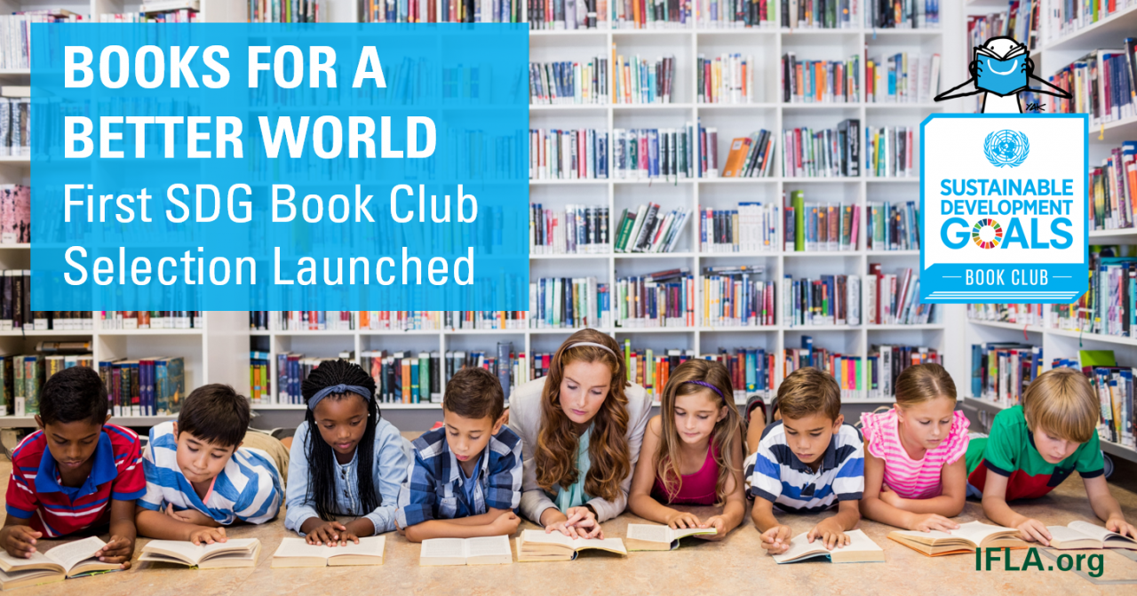 Books for a Better World - image for SDG Book Club selection on SDG 1