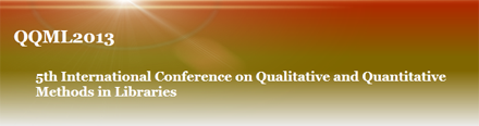 5th International Conference on Qualitative and Quantitative Methods in Libraries