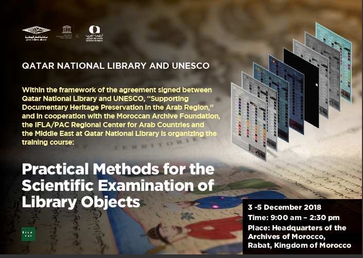 Practical Methods for the Scientific Examination of Library Objects