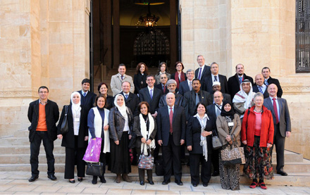 The first meeting of the Arab Parliamentary Libraries Network wascconvened in Beirut, January 2012
