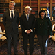 Prokopis Pavlopoulos, President of the Hellenic Republic with IFLA President Glòria Pérez-Salmerón and IFLA Secretary General Gerald Leitner