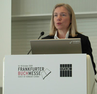 Dr. Elisabeth Niggemann, Director-General of the German National Library