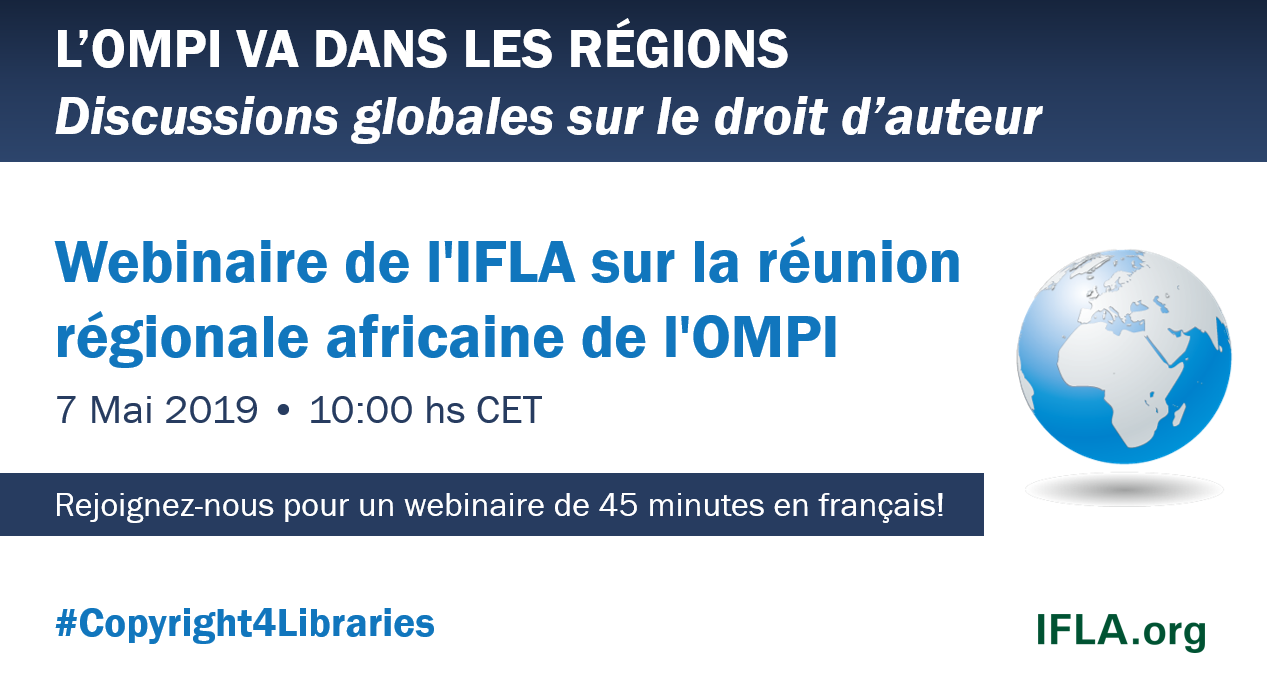 IFLA Webinar on the WIPO African Regional Meeting
