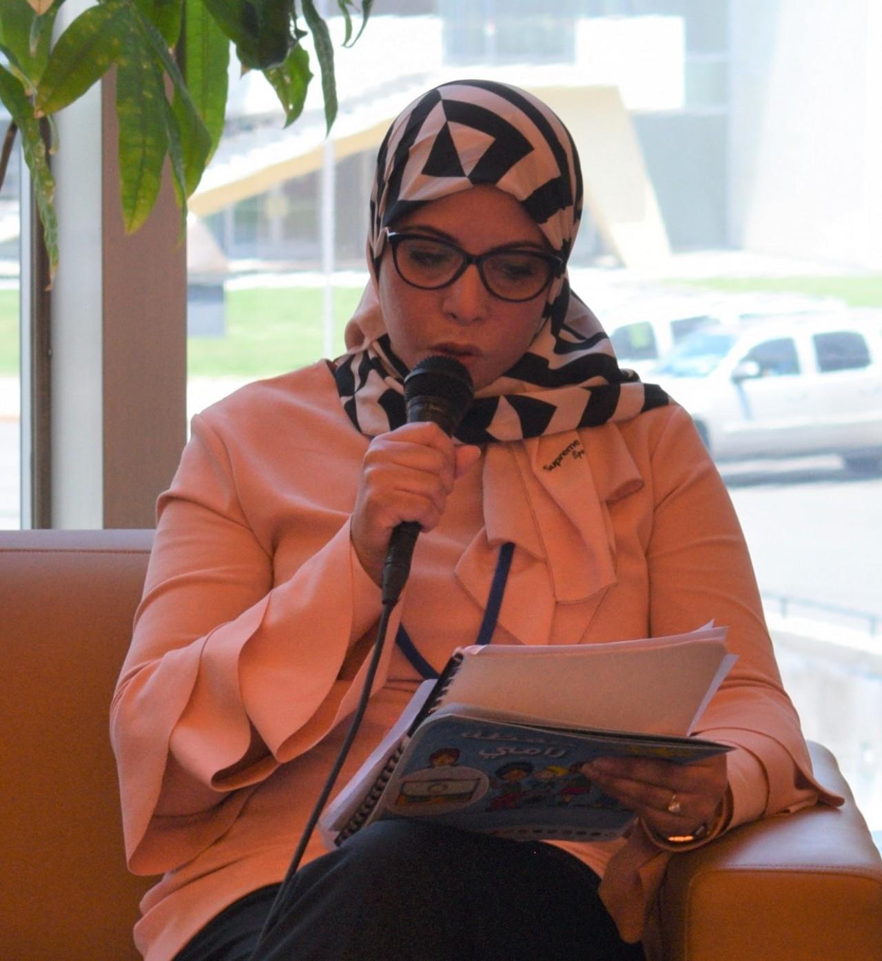 Zoubeida Bouallagui, Head of Unit for Technical Monitoring and Dissemination, Public Reading Directorate of the Ministry of Culture, Tunisia